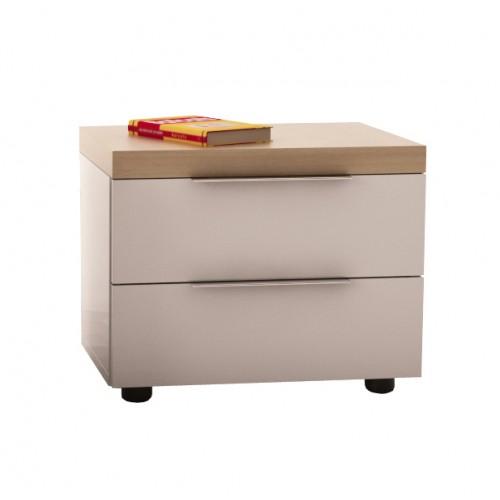 Нощен шкаф с плот фурнир УРБАН 2 светъл